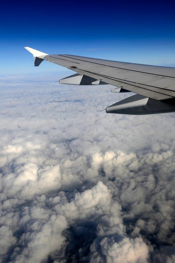 Aile de l'avion photos stock