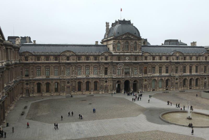 Aile de la Renaissance du musée de Louvre à Paris, France photo libre de droits