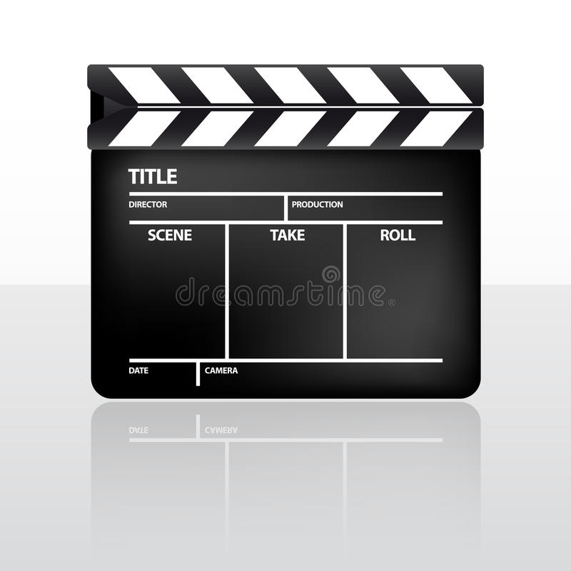 Aileron de film illustration libre de droits