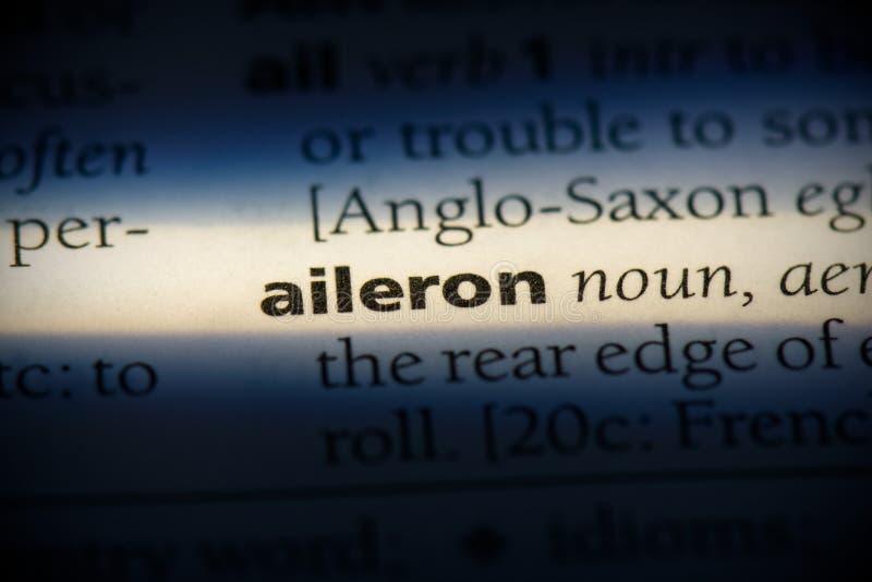 Aileron image stock