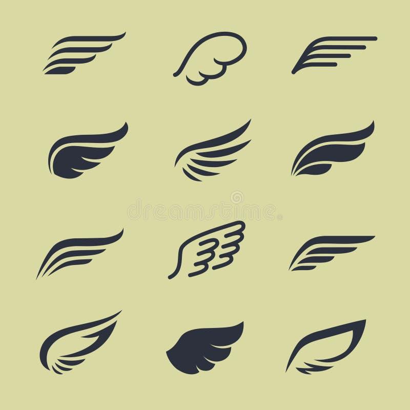 ailes illustration de vecteur
