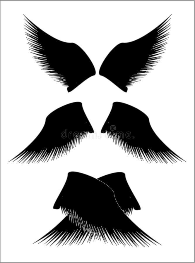 Download Ailes illustration stock. Illustration du illustration - 8665791