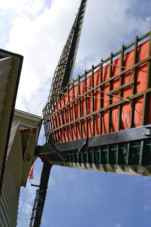 Ailes d'un moulin à vent. image stock