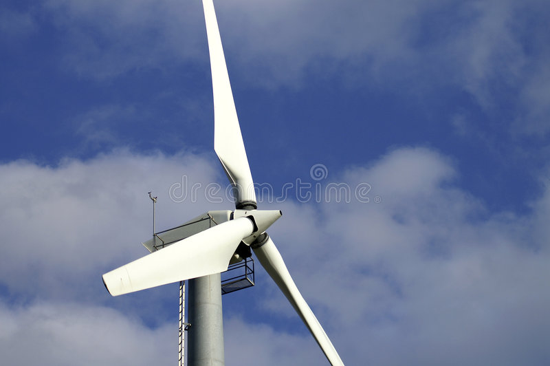 Ailes de moulin à vent image stock