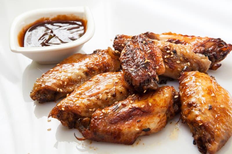 Ailes de poulet de style de Bufalo image stock