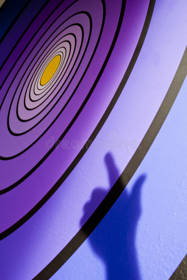 Download Aim for the Bullseye stock image. Image of reflection - 15621325