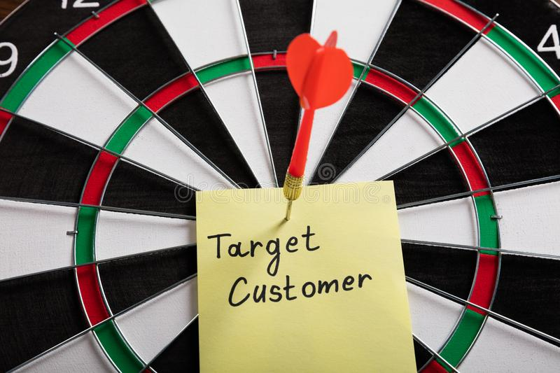 Aim On A Target Audience Concept royalty free stock images