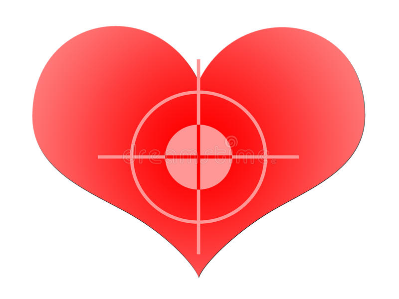 Aim To Red Heart