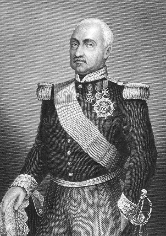 Aimable Pelissier, Herzog von Malakhoff lizenzfreie abbildung
