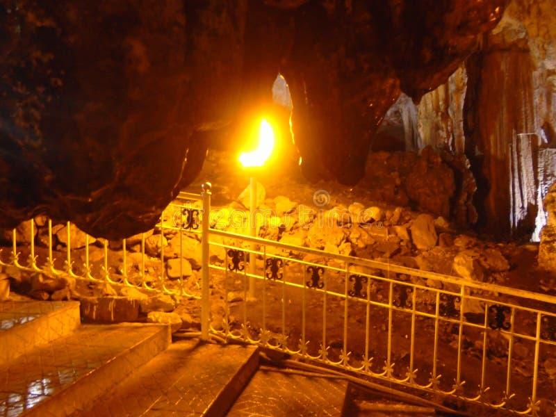 Ain σπηλιών fezza, Tlemcen, Αλγερία στοκ φωτογραφίες με δικαίωμα ελεύθερης χρήσης