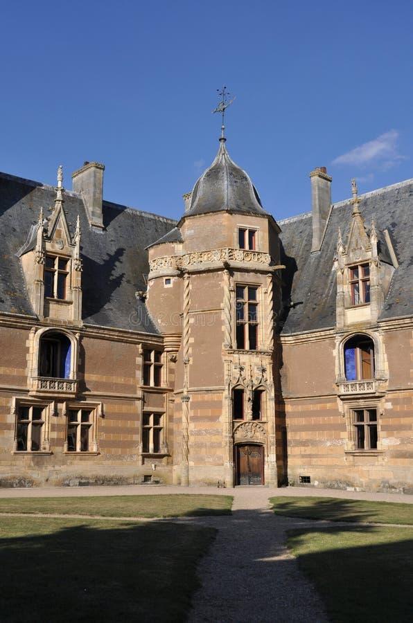 Ainay-le-Vieil castle image libre de droits