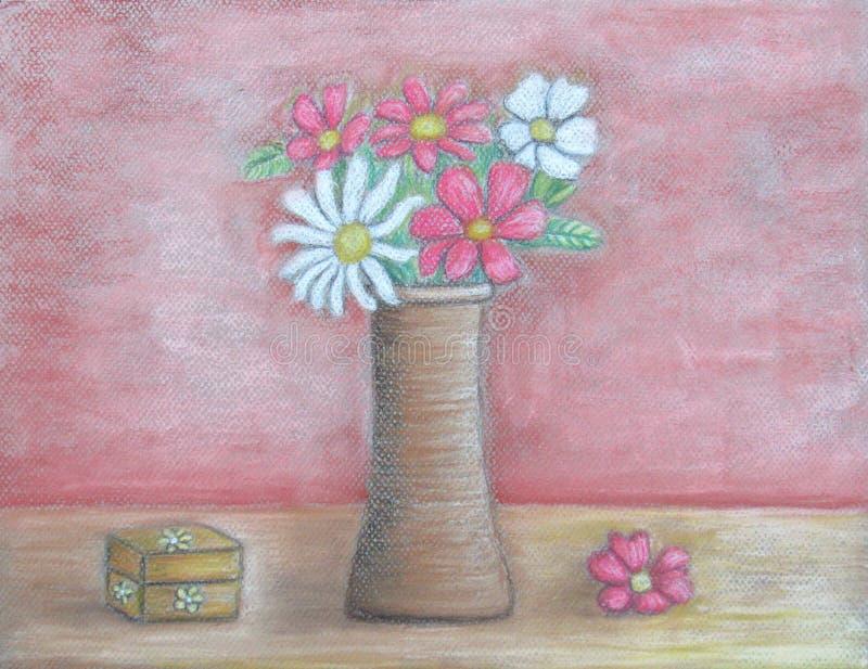 Ainda flores da vida ilustração royalty free
