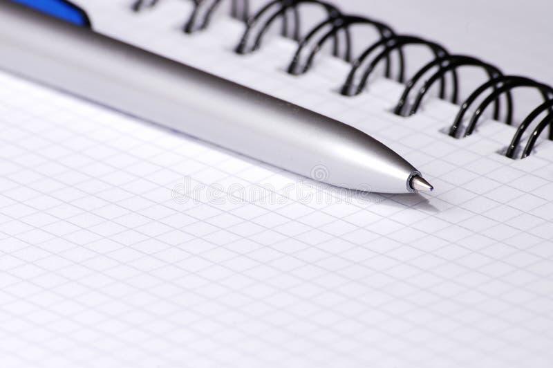Ainda-vida com caderno. imagens de stock royalty free