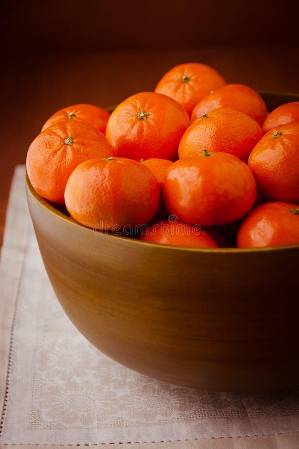 Ainda vida com os mandarino. fotos de stock royalty free