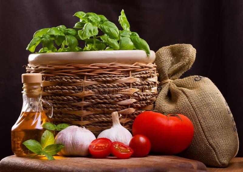 Ainda vida com vegetal fotos de stock royalty free