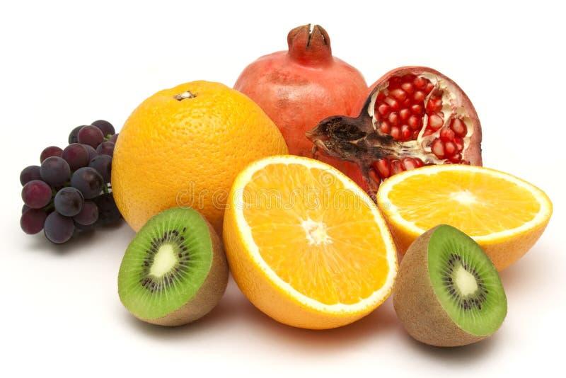 Ainda vida da fruta madura imagens de stock royalty free