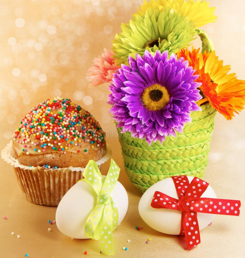 Ainda-vida de Easter foto de stock royalty free