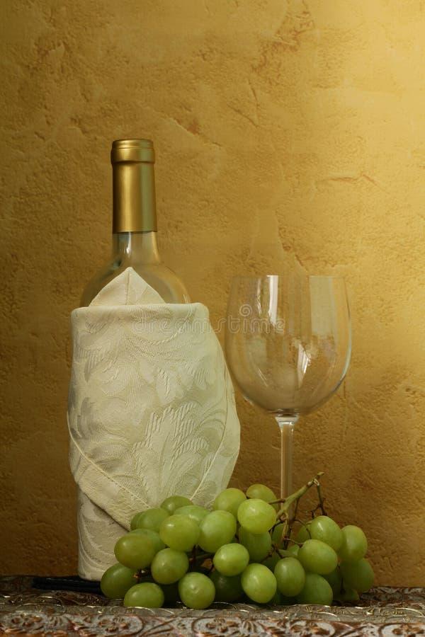 Ainda vida de frascos de vinho fotografia de stock