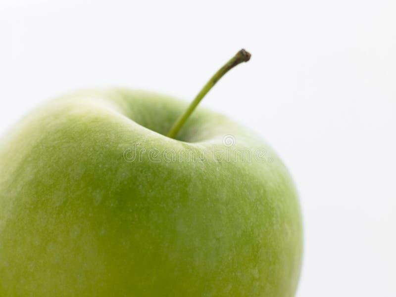 Ainda vida de um Apple verde imagens de stock