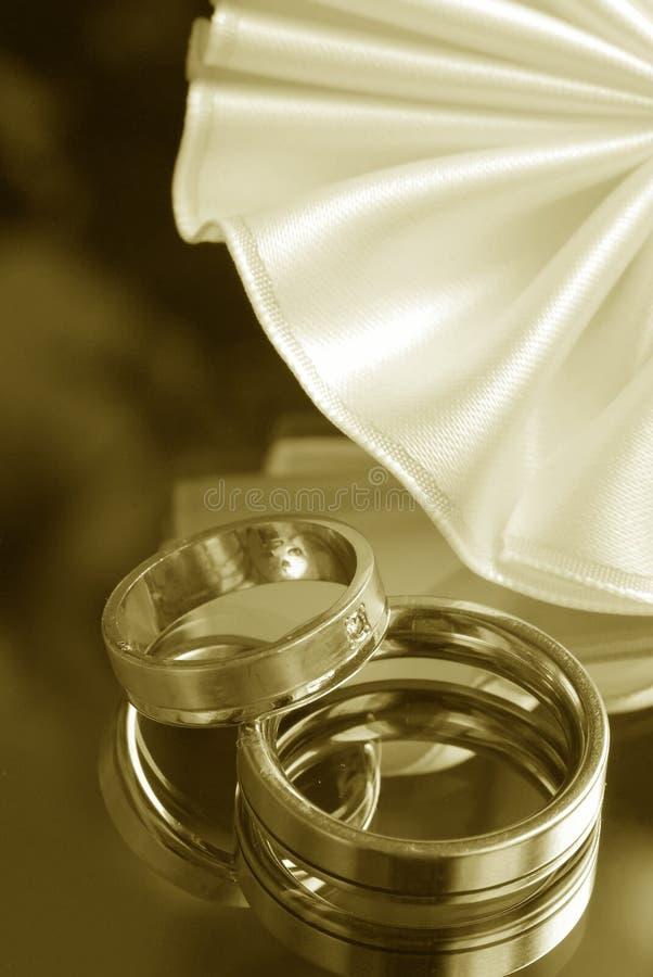 Ainda-vida do casamento imagem de stock