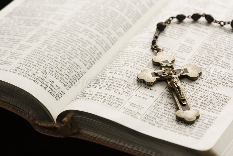 Ainda vida religiosa. fotografia de stock royalty free