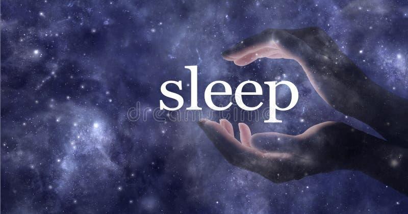 Ainsi vous voulez dormir et vous avez besoin de l'aide illustration de vecteur