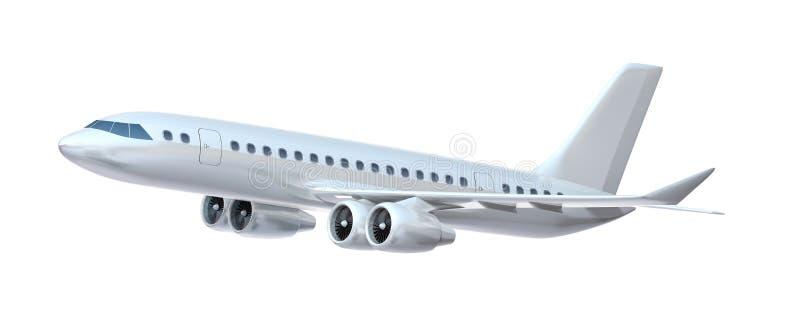 Aiplane commercial. illustration stock