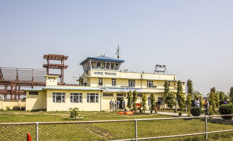 Aiport janakpur zdjęcia royalty free