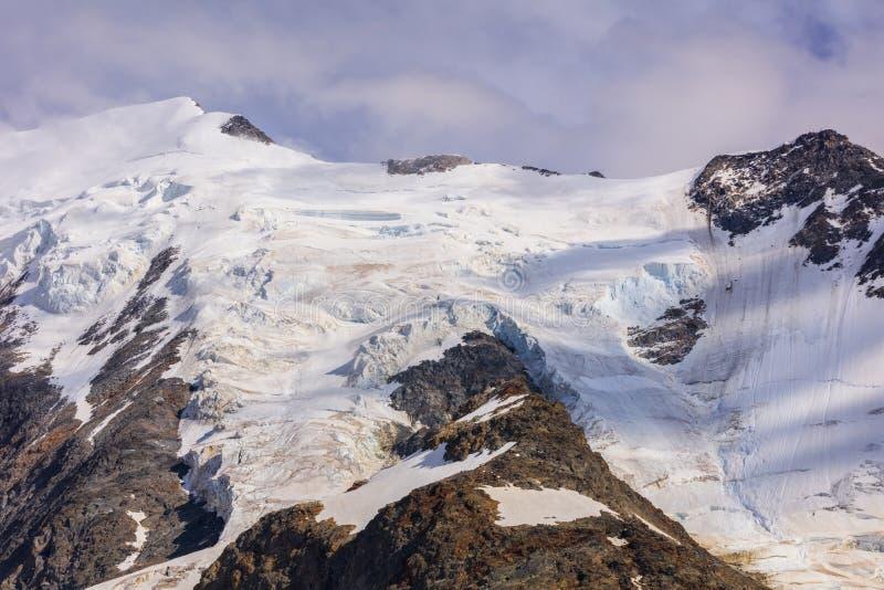 Aiquille de Bionnassay 4052m. Mont Blanc Massif, France stock photo