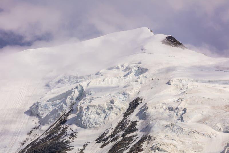 Aiquille de Bionnassay 4052m. Mont Blanc Massif, France royalty free stock image