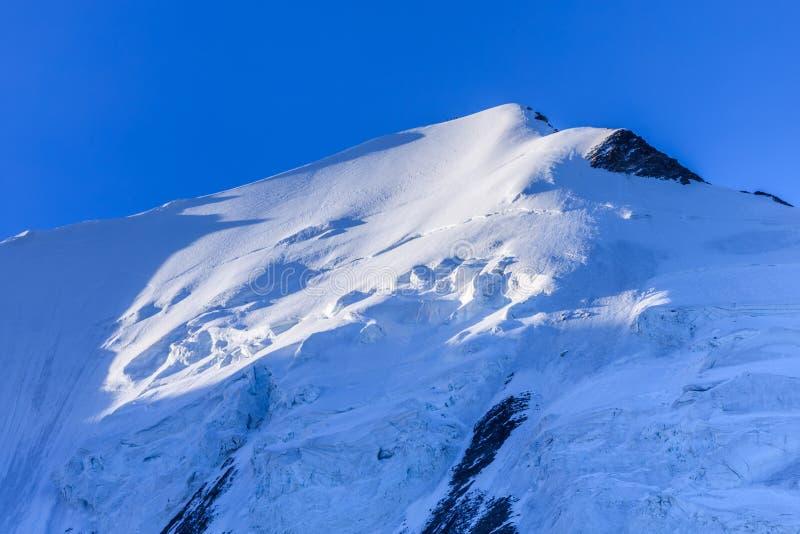 Aiquille de Bionnassay 4052m. Mont Blanc Massif, France stock photography