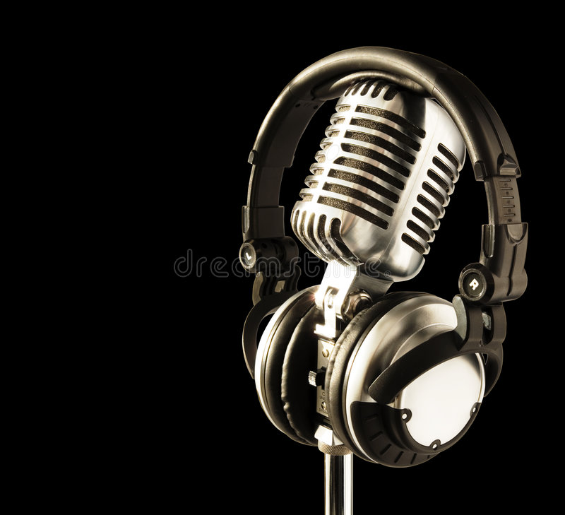 On The Air!! stock photography