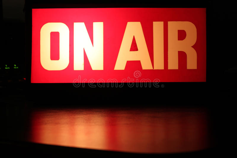 On-Air royalty free stock photo