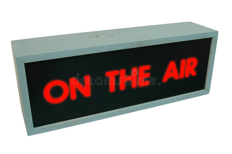 On the air stock photography