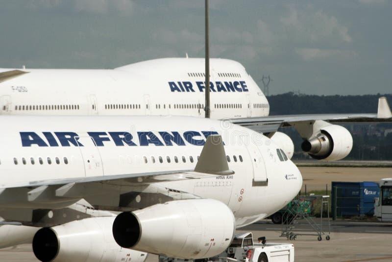 air airplanes france arkivbilder