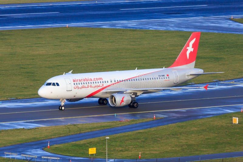 Air Arabia Airbus A320 fotos de stock
