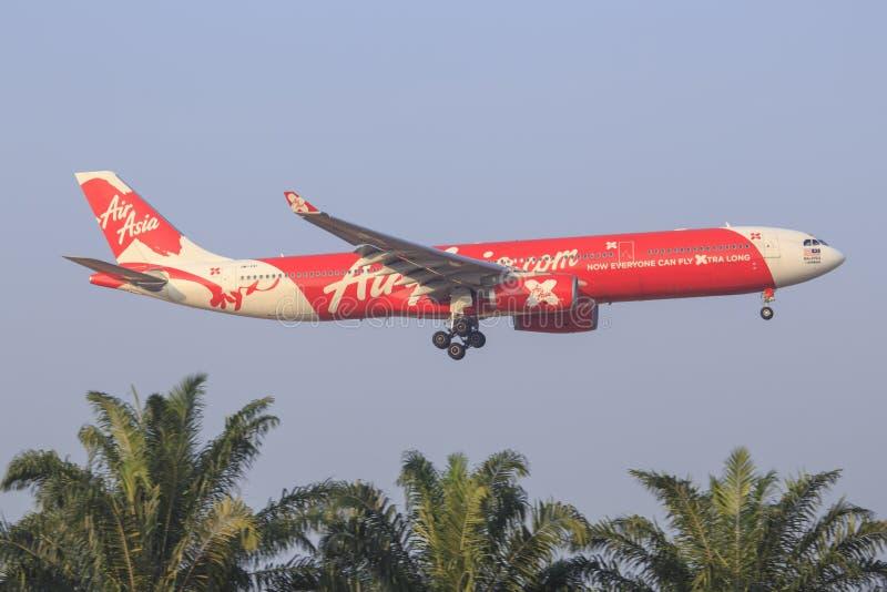 Air Asia x 库存照片