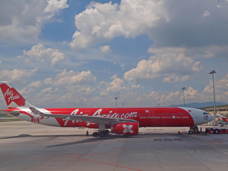 Download Air Asia X editorial stock image. Image of carrier, airasia - 25179844