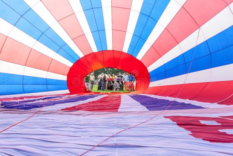 Air ballon arkivfoto