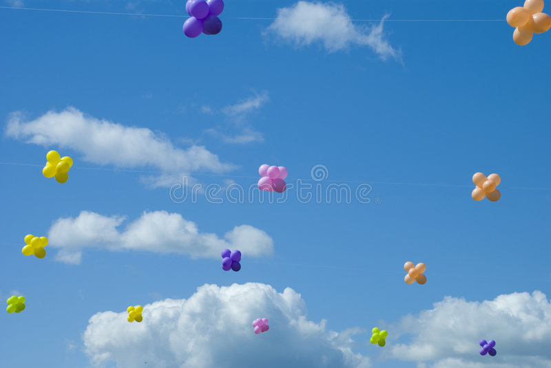 Air-ballons images stock