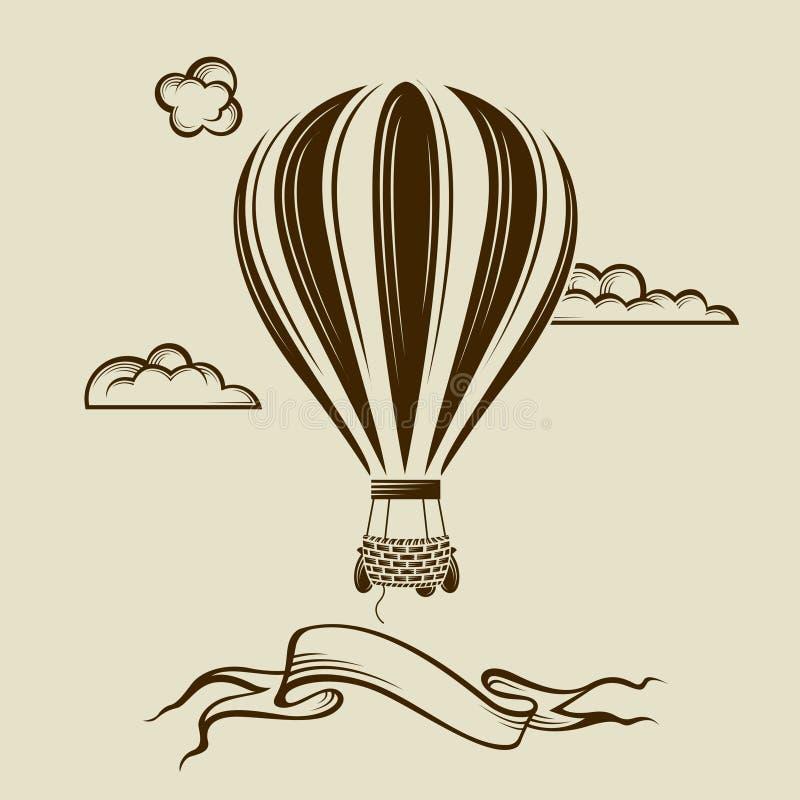 Air balloon image vector illustration