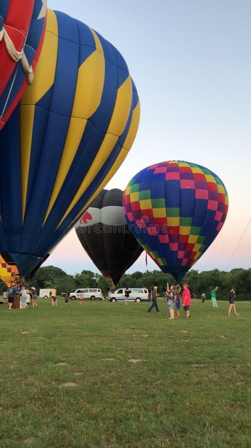 Air Balloon Race at Sulphur Springs TX. Air Baloon Race and exibith at Sulphur Springs Texas on June 2019 stock images