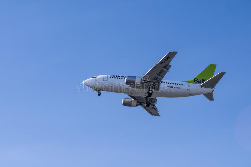 Download Air baltic editorial image. Image of airplane, departure - 33395215