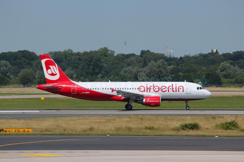 Air Berlin royaltyfri foto