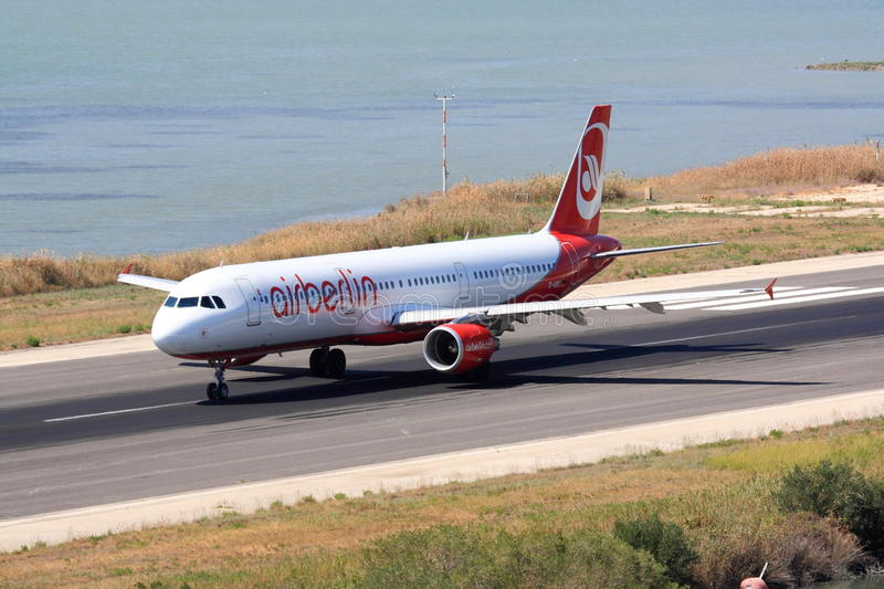 Download Air Berlin Airbus A320 On Runway Editorial Photography - Image: 33509182