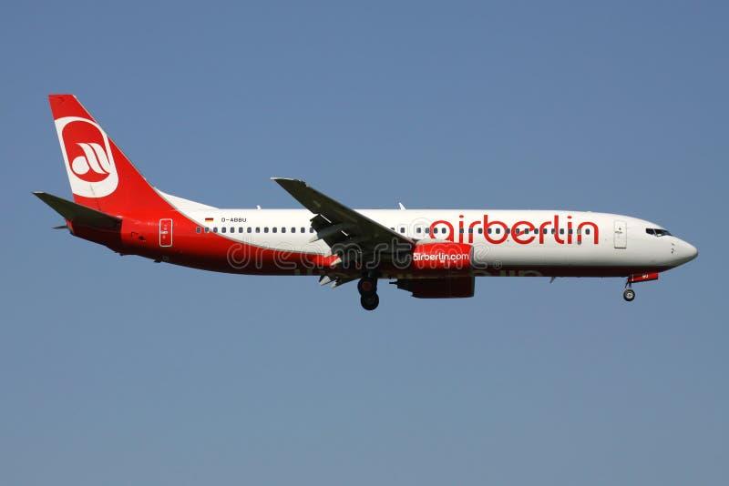 Air Berlin Boeing 737-800 foto de archivo
