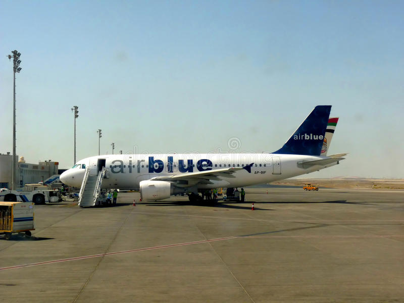 Download Air Blue Aircraft editorial image. Image of aircraft - 18870310