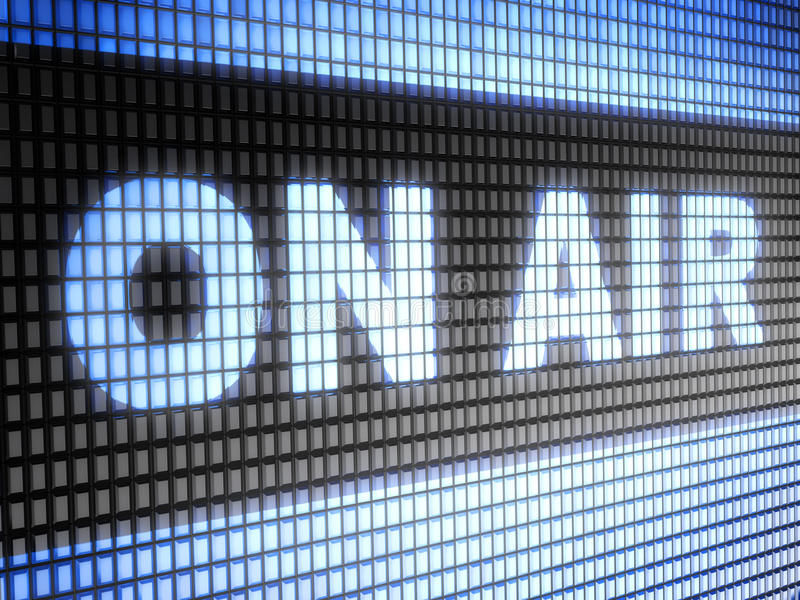 Download On air stock photo. Image of panel, onair, ether, radio - 64151798