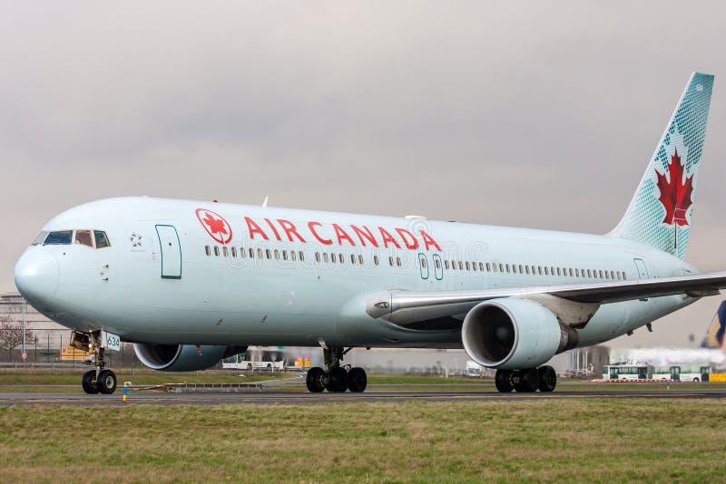Air Canada image libre de droits
