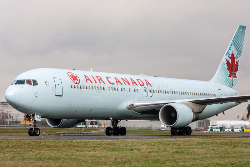 Air Canada royalty-vrije stock afbeelding
